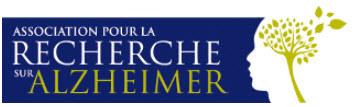 Logo Association pour la Recherche sur Alzheimer
