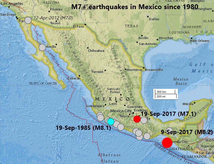 Basin Effects In The 2017 Mexico Earthquakes Scor Com