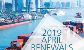 April 2019 P&C Renewal Results