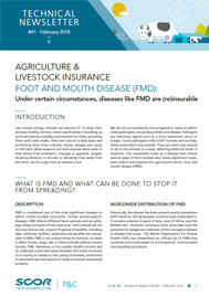 Visual for Technical Newsletter #41 - Foot and Mouth Disease