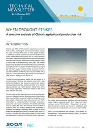 Visual for Technical Newsletter #49 - When drought strikes