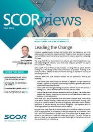 Visual for SCORViews - Fall 2019 - Leading the Change