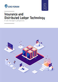 Visual for Insurance and Distributed Ledger Technology: A risk manager's perspective
