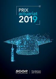 Visual for SCOR supports actuarial science by presenting Actuarial Awards in five countries in 2019