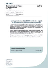 Visual for Le rapprochement de SCOR et Revios reçoit le feu vert de la Commission Européenne