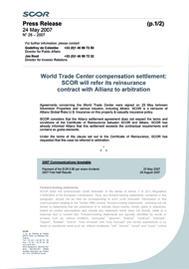 Visual for World Trade Center compensation settlement