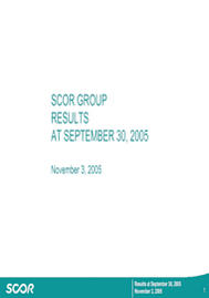 Visual for 2005 Results Q3