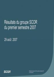 Visual for Résultats du premier semestre 2007