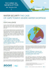 Visual for Water Security: the case of Cape Town's severe water shortage