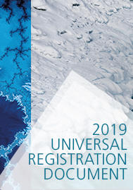 Visual for SCOR announces the publication  of its 2019 Universal Registration Document