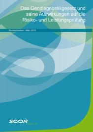 Visual for Das Gendiagnostikgesetz und seine Auswirkungen auf die Risiko- und Leistungsprüfung