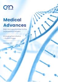 Visual for MEDICAL ADVANCES – THE CRO FORUM'S LATEST PUBLICATION