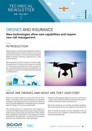 Visual for Technical Newsletter #38 - Drones and Insurance
