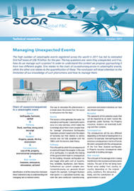 Visual for Managing unexpected events