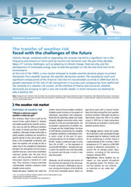 Visual for The transfer of weather risk faced with the challenges of the future