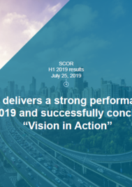 "Visual for SCOR delivers a strong performance in H1 2019 and successfully concludes ""Vision in Action"""