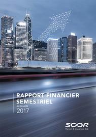 Visual for SCOR annonce la publication de son rapport financier semestriel au 30 juin 2017