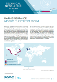 Visual for Technical Newsletter #47 - Marine Insurance | IMO 2020: The perfect storm