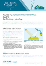 Visual for Technical Newsletter #37 - Guide to Agriculture Insurance – Part II – Satellite imagery