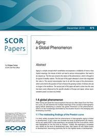 Visual for SCOR Paper #9 - Aging: a Global Phenomenon