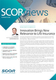 Visual for SCORviews - Summer 2018 - Innovation Brings New Relevance to Life Insurance