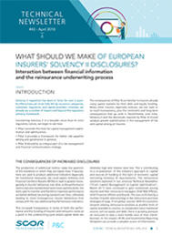 Visual for Technical Newsletter #43 - What should we make of European insurer's Solvency II disclosures?