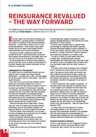 Visual for  Reinsurance Revalued– the Way Forward