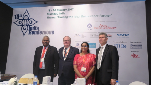Denis Kessler gives Global Keynote Industry Address at the 10th India Rendezvous